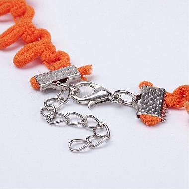 Cloth Gothic Choker Necklaces(NJEW-E085-29I)-3