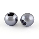 ABS Plastic Imitation Pearl European Beads(X-MACR-R530-12mm-A50)-1