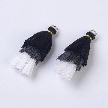 Golden Black Polyester Pendants