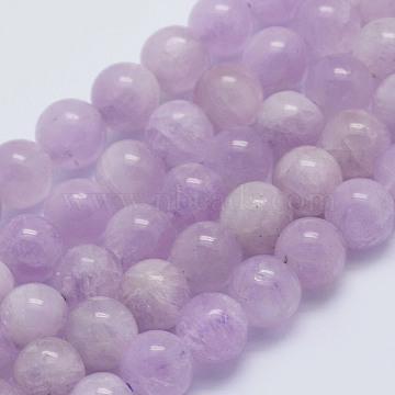 6mm Round Kunzite Beads