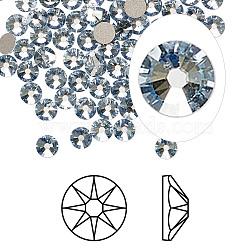 strass cristal autrichien, 2088, passions de cristal, déjouer retour, Xirius rose, 001 teinte bleue blsh_crystal, 6.32~6.5 mm(X-2088-SS30-001BLSH(F))