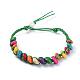 Waxed Cotton Cord Bracelets(BJEW-JB04495-05)-1