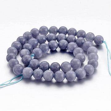 8mm LightBlue Round Aquamarine Beads