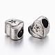 304 Stainless Steel European Beads Rhinestone Settings(STAS-P191-054AS)-2
