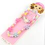 Colorful Acrylic Bracelets & Necklaces(X-SJEW-R048-05)