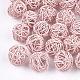 Perles de fil de fer environnementales peintes par pulvérisation(IFIN-T009-10G)-1