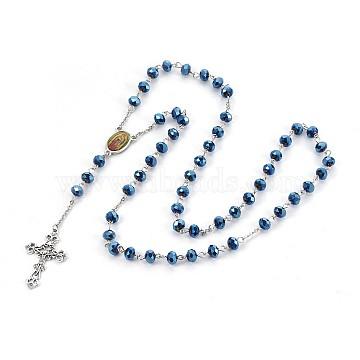 Blue Glass Necklaces