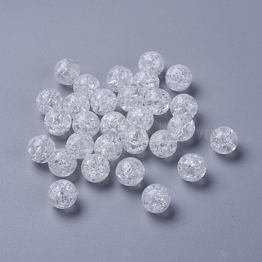 Crackle Acrylic Beads(X-PAC152Y-9)-2