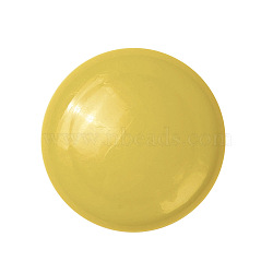 Office Magnets, Round Refrigerator Magnets, for Whiteboards, Lockers & Fridge, Yellow, 39x10mm(AJEW-E043-01B-04)