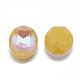Pointed Back K9 Glass Rhinestone Cabochons(RGLA-T054-8x10-221MI)-2