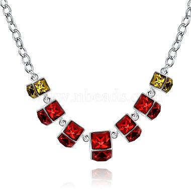 Red Resin Necklaces