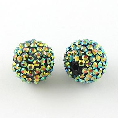 ab-perles de couleur strass de résine(RESI-S315-20x22-04)-1