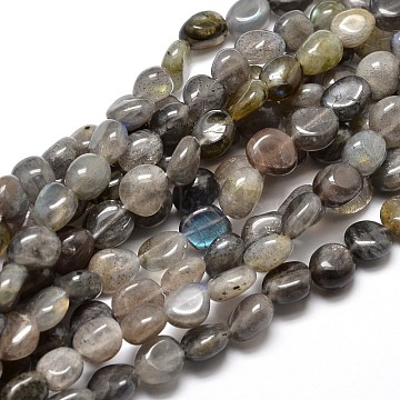 8mm Nuggets Labradorite Beads