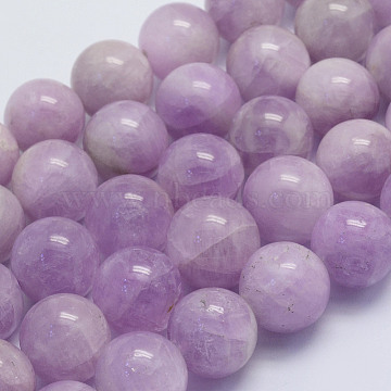 14mm Round Kunzite Beads