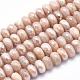 Electroplate Natural Sunstone Beads Strands(G-K256-18C)-1