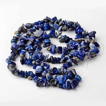 4mm RoyalBlue Chip Lapis Lazuli Beads
