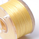 Special Coated Polyester Beading Threads for Seed Beads(OCOR-R038-13)-2