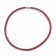 Brass Mesh Chain Necklaces(NJEW-F197-01E)-1