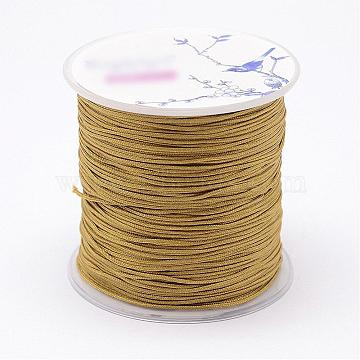 1mm DarkGoldenrod Nylon Thread & Cord
