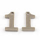 304 Stainless Steel Number Charms(STAS-S035-M)-2