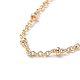 Long-Lasting Plated Brass Cable Chain Necklaces(X-NJEW-K112-09G-NF)-2