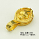 Brass Buddhist Pendants(KK-K051-G)-2