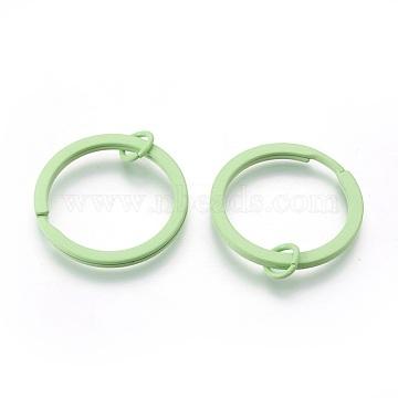 PaleGreen Ring Brass Clasps