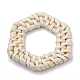 Handmade Reed Cane/Rattan Woven Linking Rings(X-WOVE-Q075-17)-2