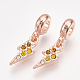 Alloy European Dangle Beads(MPDL-S067-011RG)-1