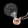Brass Necklaces(NJEW-TA0016-05RG)