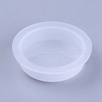 Plastic End Caps, Glue Dispensing Industrial Syringe Barrel End Cover, Clear, 23~27x7.5mm(TOOL-WH0103-09)