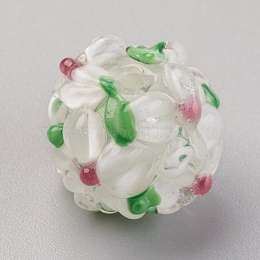 Perles vernissées manuelles(LAMP-P051-H10)-2