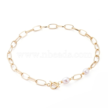 Seashell Color Pearl Necklaces