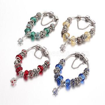 Mixed Color Alloy Bracelets