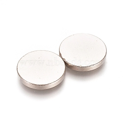 Round Refrigerator Magnets, Office Magnets, Whiteboard Magnets, Durable Mini Magnets, 12x1.5mm(AJEW-D044-03A-12mm)