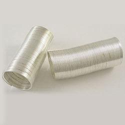 Fil d'acier de mémoire 2.2 cm, couleur argentée, le fils: 0.6 mm, environ 100circles / set(X-MW2.2cm-S)