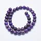 Natural Kunzite/Spodumene Beads Strands(G-E444-40-10mm)-2