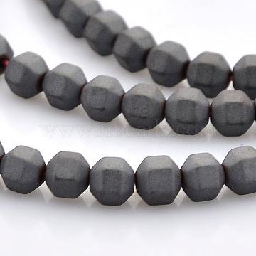4mm Round Non-magnetic Hematite Beads
