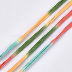 Cordons polyester, colorées, 20~25 mm; 28.5~30 m / rouleau(OCOR-S122-03I)