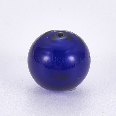Bouteilles rondes de boule de globe en verre soufflé à la main(LAMP-F007-24)-2
