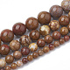 Natural Jade Beads Strands(G-S281-54-10mm)-2