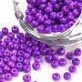 3mm DarkViolet Round Glass Beads(SEED-Q025-3mm-L29)