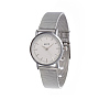 Silver Stainless Steel Quartz Watch(WACH-I017-01A)