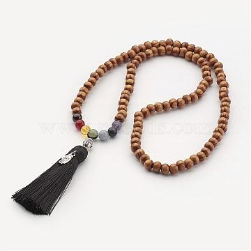BurlyWood Wood Necklaces