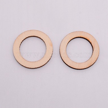 Unfinished Wood Linking Rings(WOOD-WH0099-12B)-2