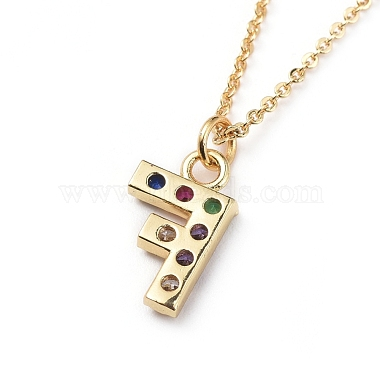 Letter Brass Micro Pave Cubic Zirconia Initial Pendants Necklaces(NJEW-JN02585-06)-3