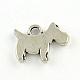 Tibetan Style Alloy Puppy Charms(X-TIBEP-R336-184AS-FF)-1