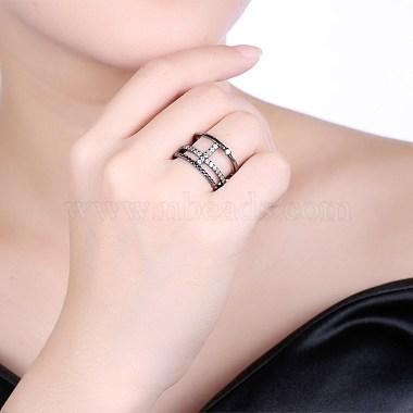 Trendy Brass Cubic Zirconia Finger Rings(RJEW-BB27262-A-9)-3