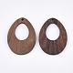 Walnut Wood Pendants(X-WOOD-S054-10)-2