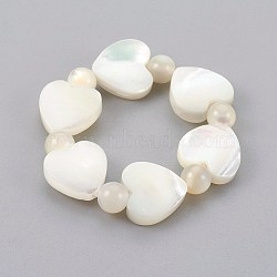 Perles de coquillages, taille 10, 20mm(RJEW-JR00239-04)